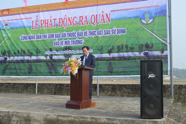 Điện Biên: Cùng nông dân thu gom bao gói thuốc bảo vệ thực vật sau sử dụng… - Ảnh 1.