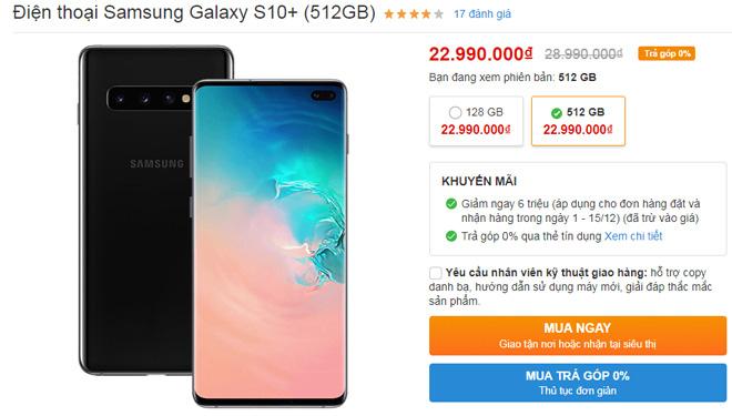 NÓNG: Hàng loạt smartphone cao cấp giảm 5 – 6 triệu đồng - Ảnh 1.