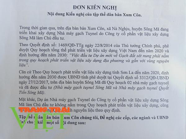 Xung quanh sai phạm của Công ty CPVLXD Sông Mã: UBND tỉnh Sơn La tiếp tục ra văn bản đình chỉ hoạt động  - Ảnh 3.