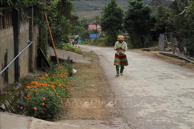Khởi sắc nông thôn mới vùng cao Hát Lừu tỉnh Yên Bái - Ảnh 1.