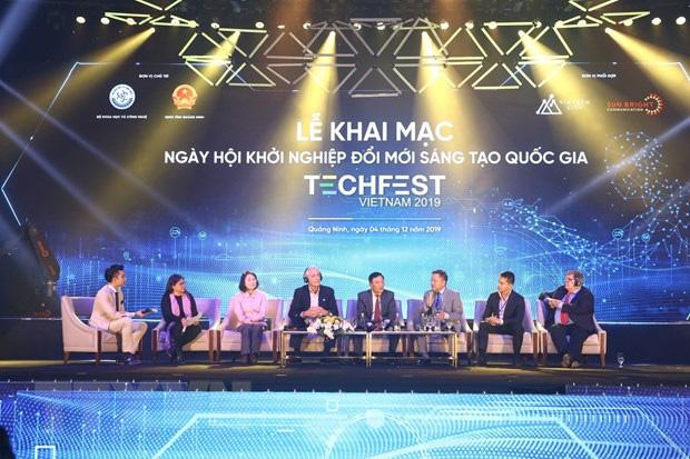 Khai mạc Ngày hội khởi nghiệp đổi mới sáng tạo (Techfest) Việt Nam 2019 - Ảnh 4.