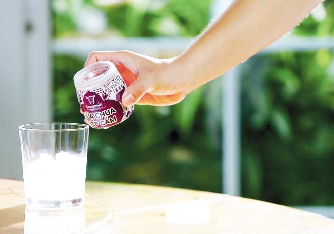 Sản phẩm của Hanamilk giữ được vị của sữa tươi nguyên liệu.