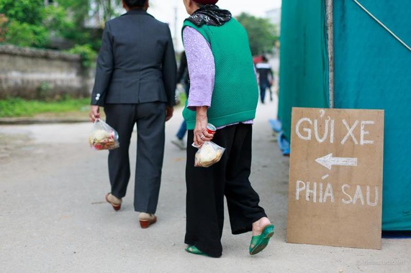 Tục ăn cỗ lấy phần vẫn đang tồn tại ở nhiều địa phương như Nam Định, Thái Bình… (Ảnh minh họa, nguồn It)