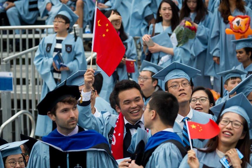 Chính phủ Mỹ bắt đầu hạn chế sinh viên, nghiên cứu sinh Trung Quốc. Ảnh: Xinhua.