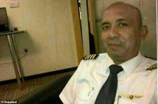 Cơ trưởng máy bay MH370 Zaharie Ahmad Shah.