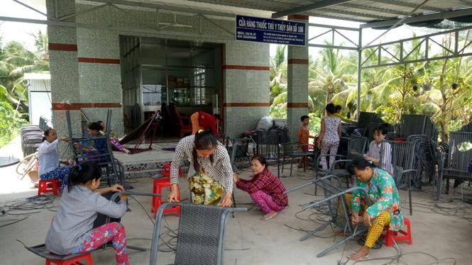 Huyện quan tâm công tác đào tạo nghề cho lao động nông thôn.