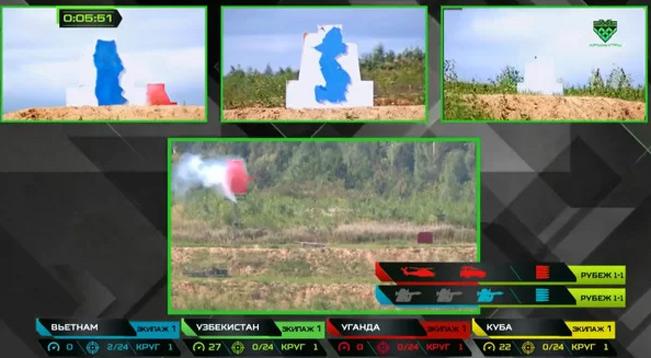 Ba mục tiêu mô phỏng bộ binh đều bị kíp VN3 tiêu diệt. Ảnh chụp màn hình.