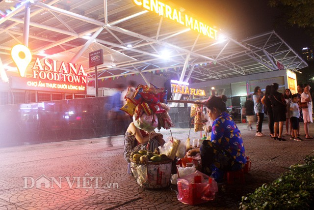 Hồi sinh chợ đêm đầu tiên trong lòng đất ở Việt Nam - Ảnh 1.