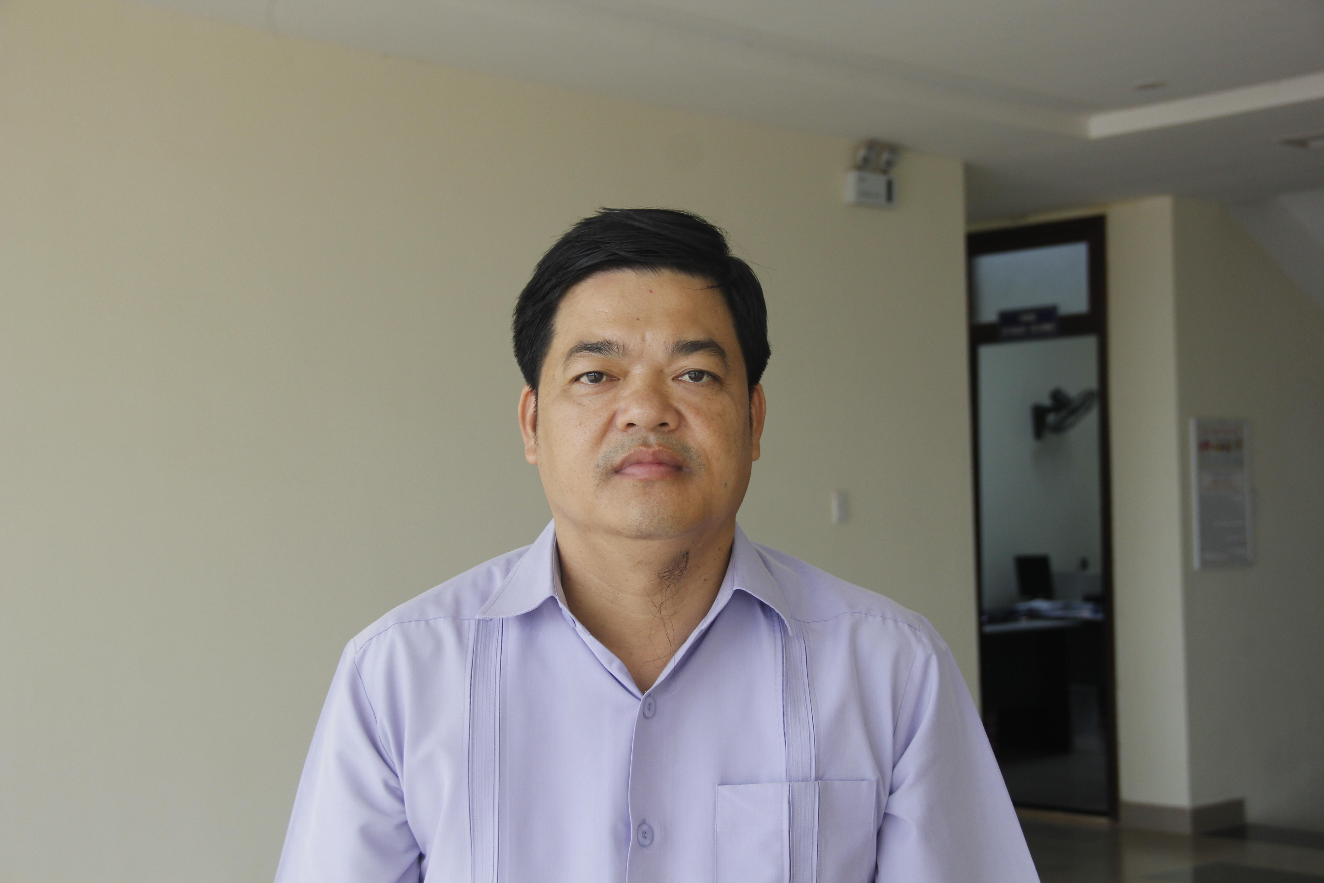 Ông Hồ Xuân Hoè, Giám đốc Sở NNPTNT Quảng Trị.