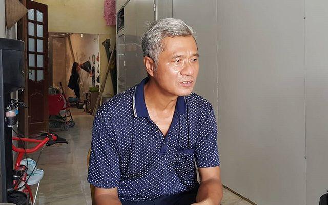 Trưởng thôn Hoàng Xá - Trần Hữu Nhuận.