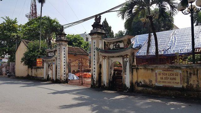 Di tích lịch sử đình làng Hoàng Xá.