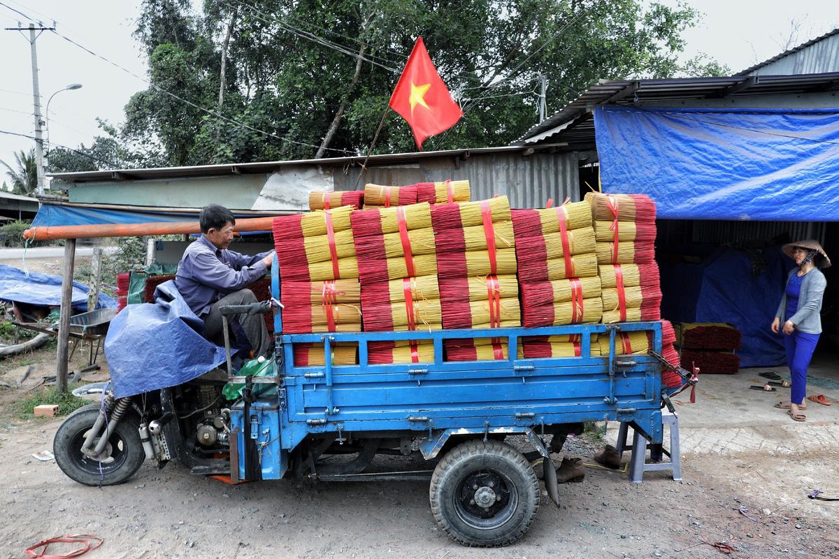Làng nhang Sài Gòn vào vụ Tết - Ảnh 10.
