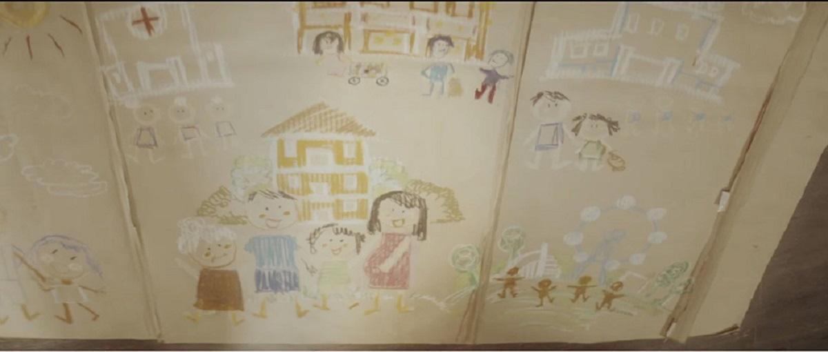 """""""Ngôi nhà Carton"""" – phim ngắn """"gây bão"""" dịp Trung Thu về giá trị của Tổ ấm gia đình - Ảnh 1."""