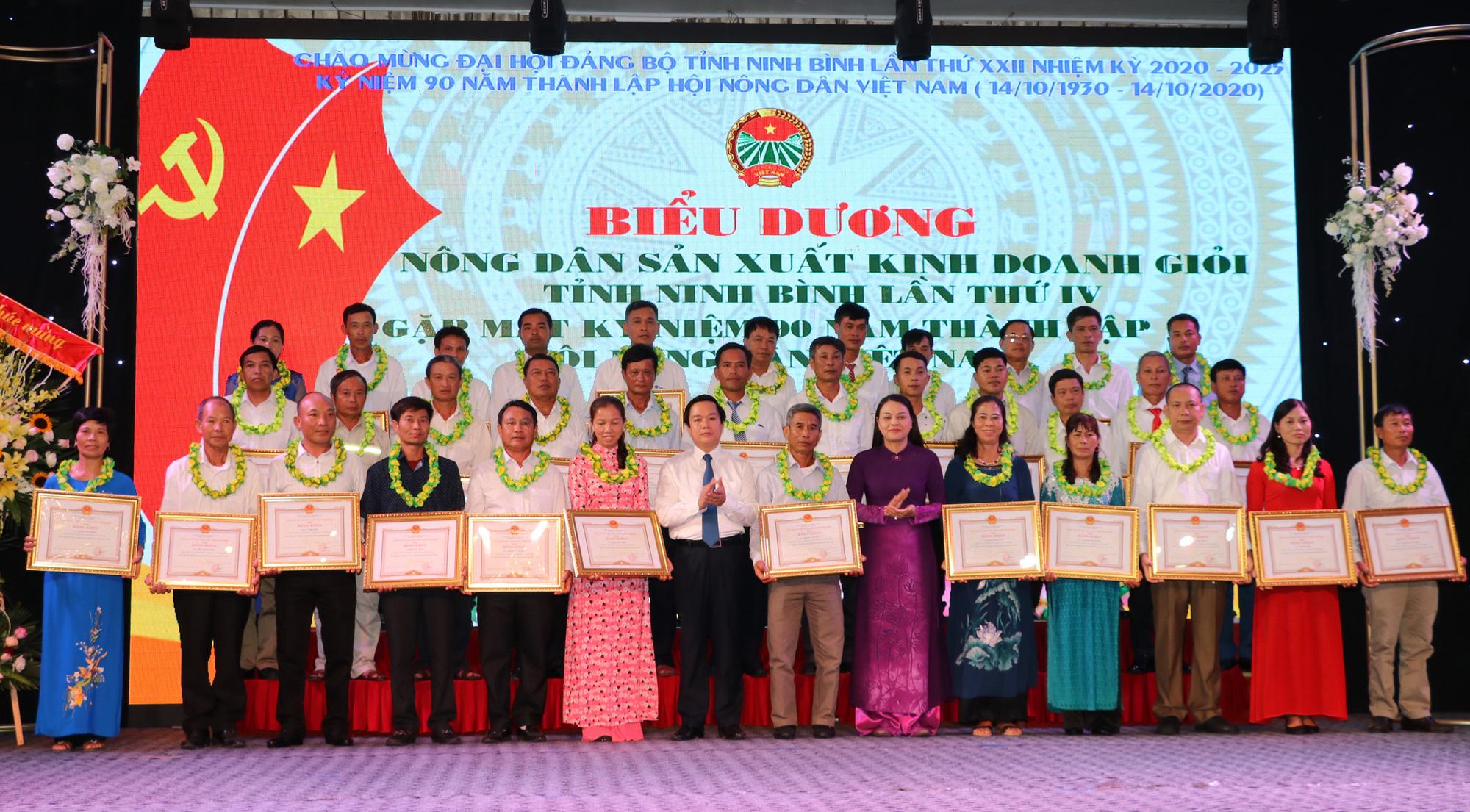 Ninh Bình: Biểu dương 141 nông dân sản xuất, kinh doanh giỏi - Ảnh 3.