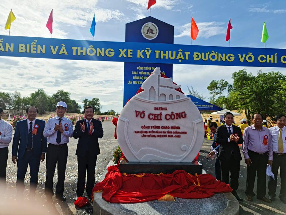 Quảng Nam: Thông xe kỹ thuật tuyến đường vào sân bay Chu Lai với vốn đầu tư 1.479 tỷ đồng - Ảnh 3.