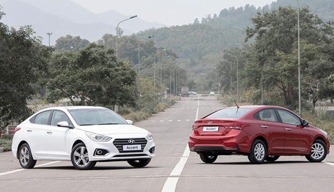 Với 500 triệu đồng, có nên mua Hyundai Accent mới AT tiêu chuẩn? - Ảnh 1.