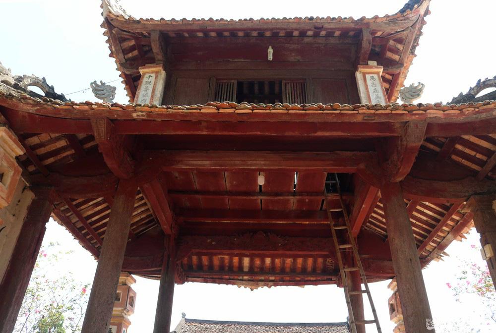 Kỳ bí về sự độc, lạ ngôi đền cổ hàng trăm năm tuổi ở Nghệ An - Ảnh 4.