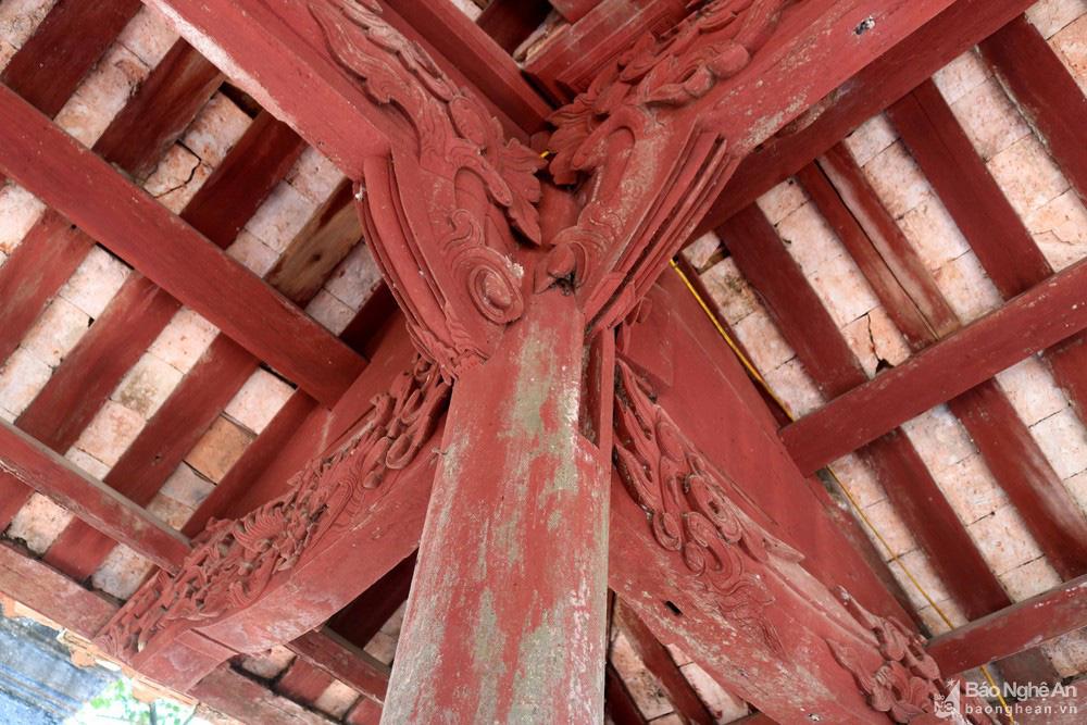 Kỳ bí về sự độc, lạ ngôi đền cổ hàng trăm năm tuổi ở Nghệ An - Ảnh 5.