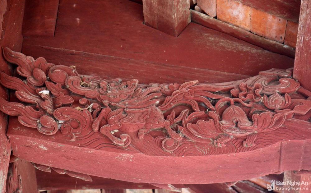 Kỳ bí về sự độc, lạ ngôi đền cổ hàng trăm năm tuổi ở Nghệ An - Ảnh 6.