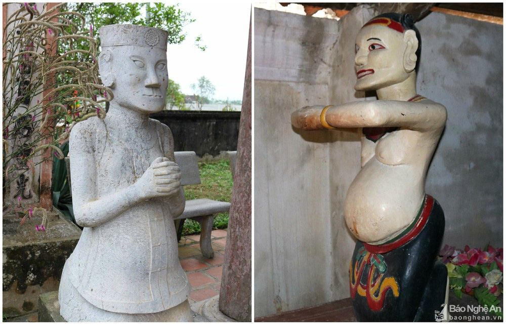 Kỳ bí về sự độc, lạ ngôi đền cổ hàng trăm năm tuổi ở Nghệ An - Ảnh 8.