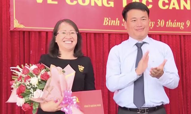 Quảng Ngãi: Thêm 2 huyện có Chủ tịch mới, điều động 1 Bí thư huyện về tỉnh  - Ảnh 1.