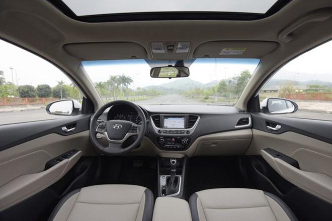 Với 500 triệu đồng, có nên mua Hyundai Accent mới AT tiêu chuẩn? - Ảnh 3.
