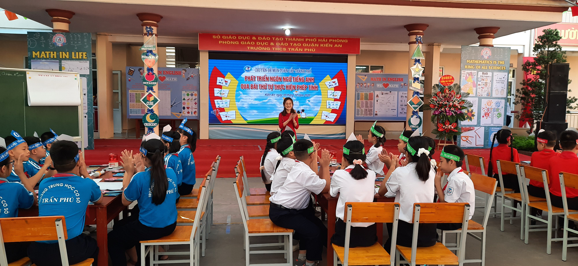 Hải Phòng: Tổ chức hội thảo chuyên đề dạy Toán bằng Tiếng Anh - Ảnh 6.