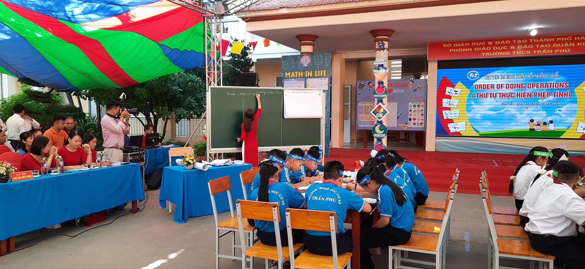 Hải Phòng: Tổ chức hội thảo chuyên đề dạy Toán bằng Tiếng Anh - Ảnh 5.