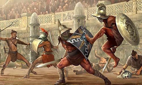 """Đấu trường La Mã: Chuyện lạ võ sĩ giác đấu từ chối tự do vì """"cuồng"""" chiến đấu - Ảnh 1."""