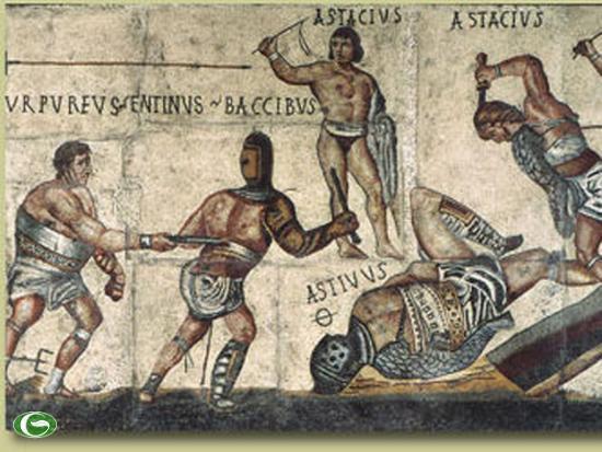 """Đấu trường La Mã: Chuyện lạ võ sĩ giác đấu từ chối tự do vì """"cuồng"""" chiến đấu - Ảnh 2."""