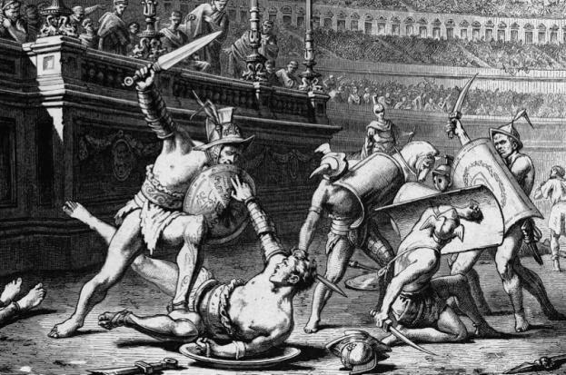 """Đấu trường La Mã: Chuyện lạ võ sĩ giác đấu từ chối tự do vì """"cuồng"""" chiến đấu - Ảnh 4."""