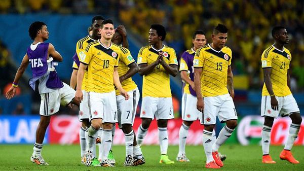 Colombia thắng Venezuela 3-0