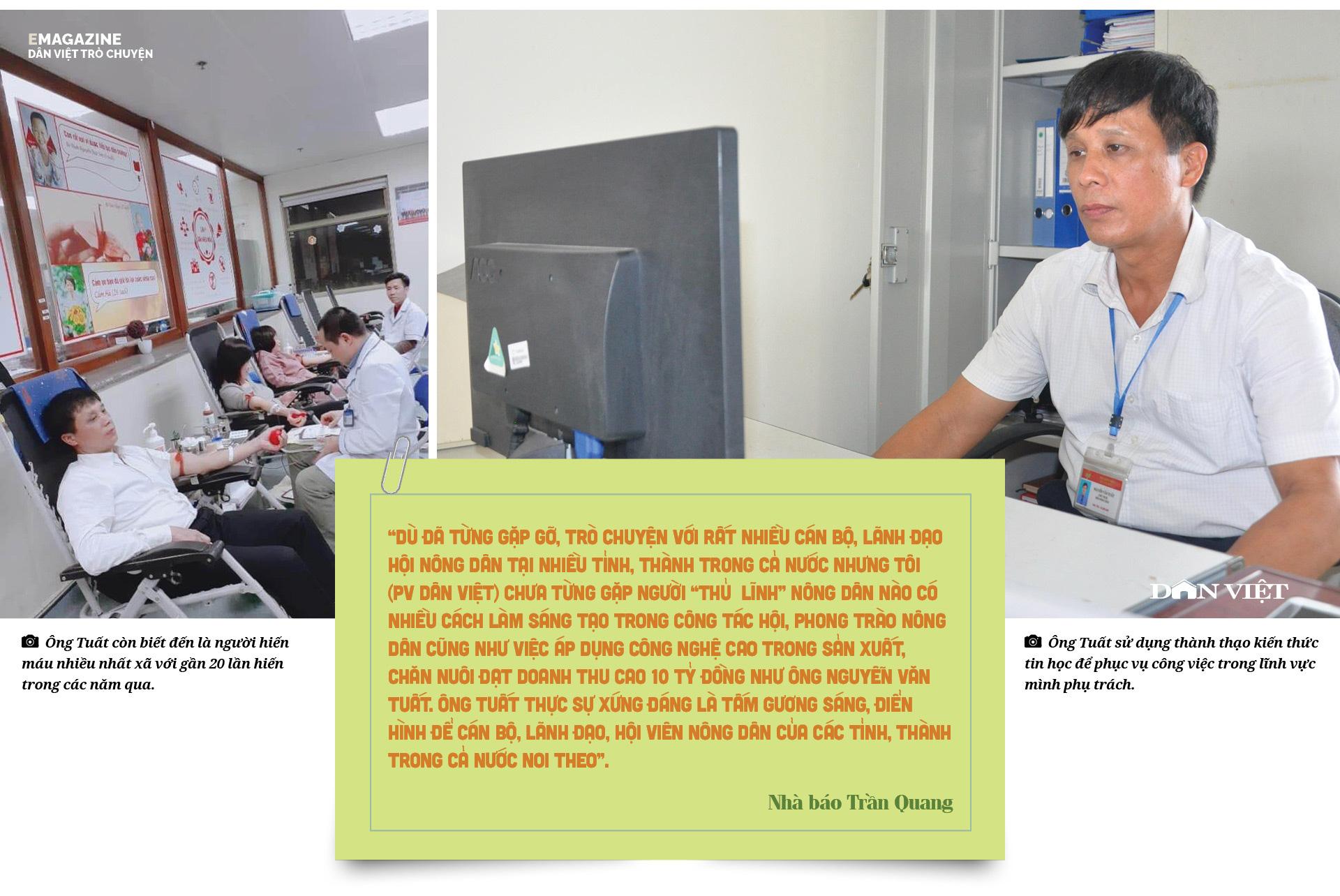 """Nguyễn Văn Tuất - """"thủ lĩnh"""" nông dân giỏi với biệt tài chăn nuôi 10 tỷ đồng/năm - Ảnh 17."""