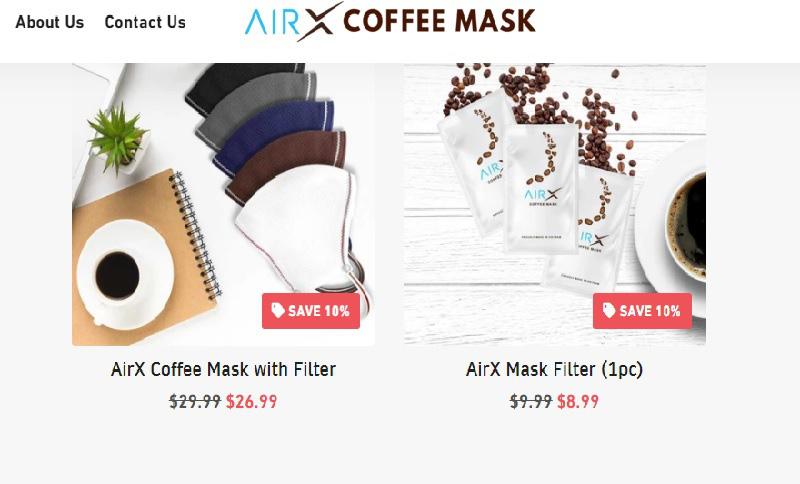 Bất ngờ với khẩu trang cà phê giá hơn nửa triệu đồng mỗi cái - Ảnh 2.