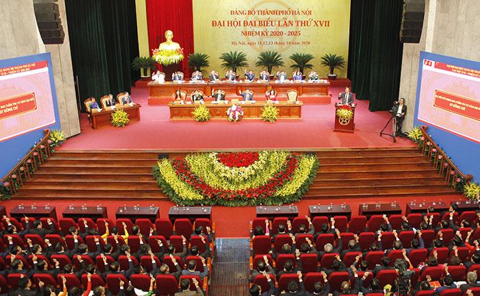 """Đại hội Đảng bộ TP Hà Nội: """"Lựa chọn nhân sự không tham nhũng, tiêu cực, chạy chức, chạy quyền"""" - Ảnh 4."""