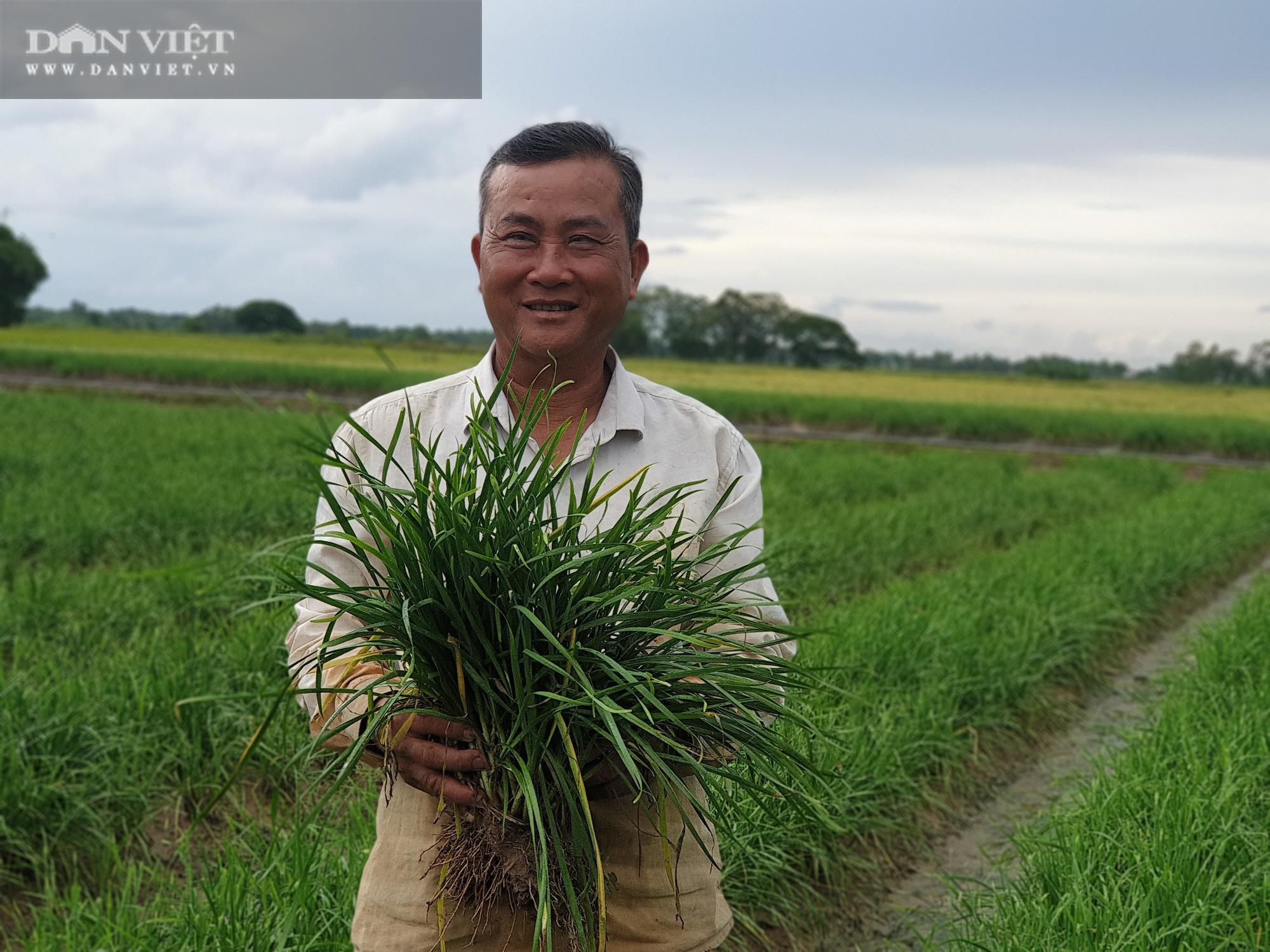 Lão nông ngủ chòi lá, chỉ trồng hẹ, trồng lúa nhưng có hàng tỷ đồng làm từ thiện - Ảnh 1.