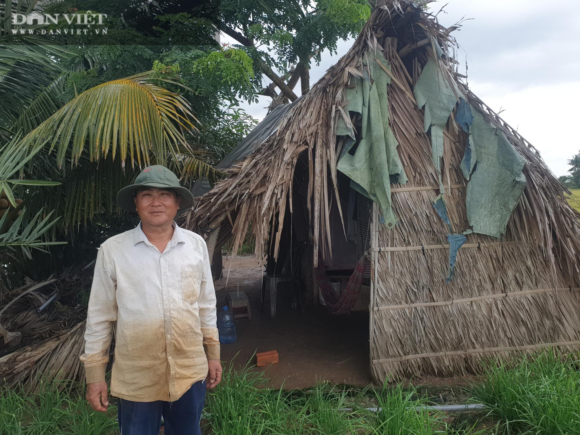Lão nông ngủ chòi lá, chỉ trồng hẹ, trồng lúa nhưng có hàng tỷ đồng làm từ thiện - Ảnh 5.