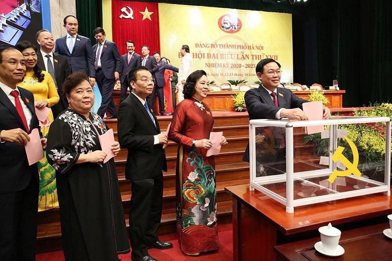 Hà Nội: Giới thiệu 80 người để bầu Ban Chấp hành Đảng bộ TP  khóa XVII - Ảnh 1.