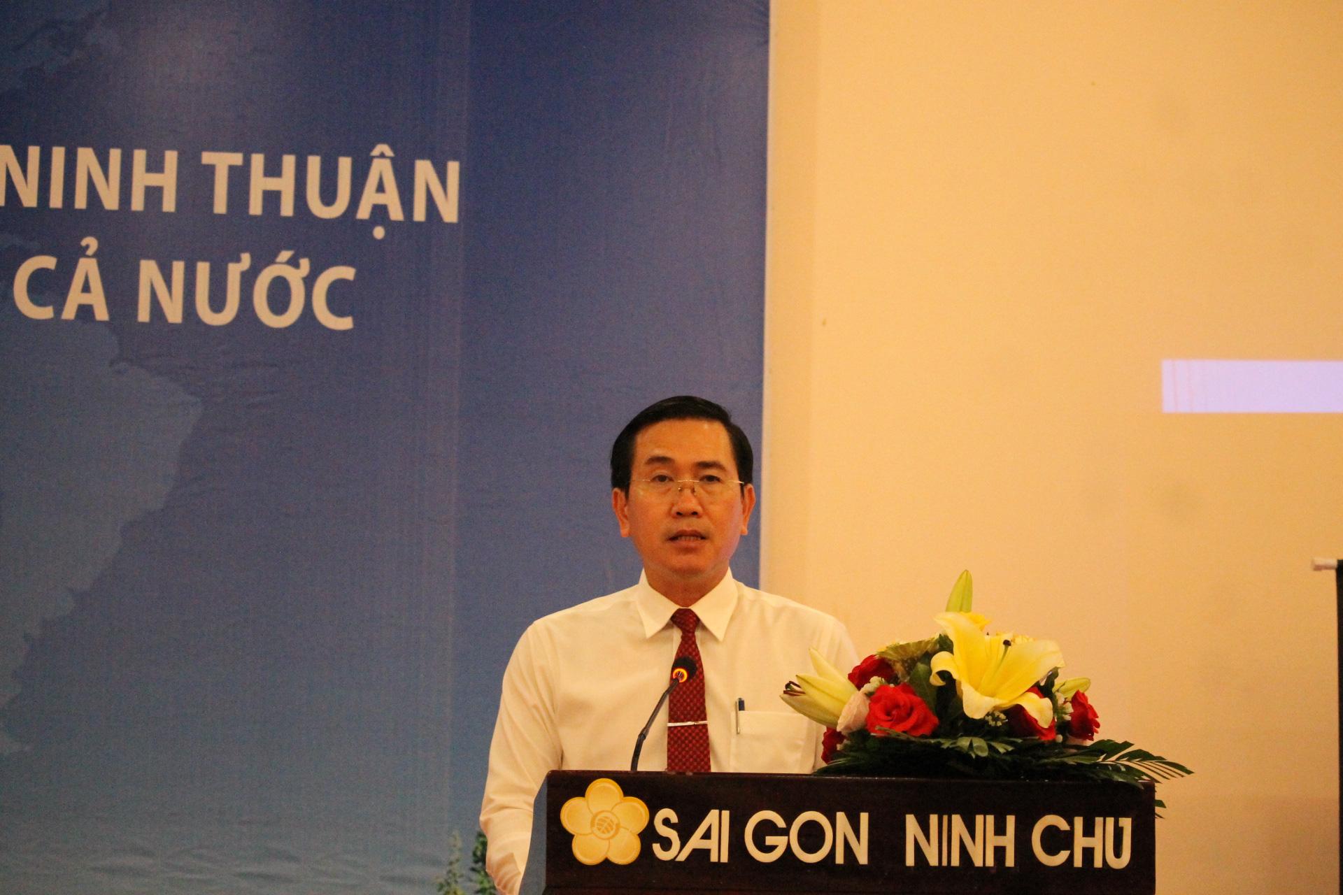 Ninh Thuận  sẽ thành trung tâm năng lượng tái tạo của cả nước - Ảnh 1.