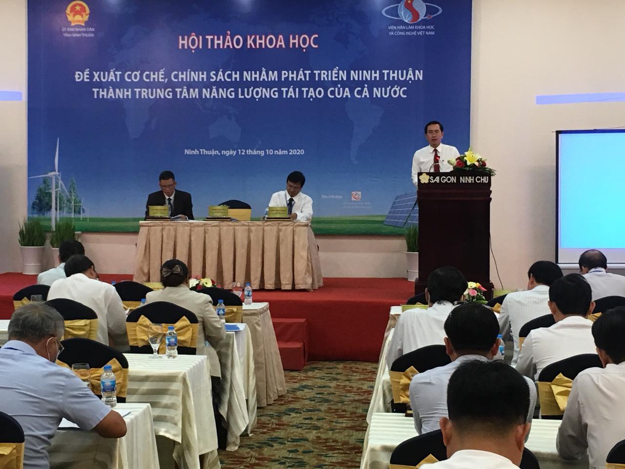 Ninh Thuận  sẽ thành trung tâm năng lượng tái tạo của cả nước - Ảnh 2.