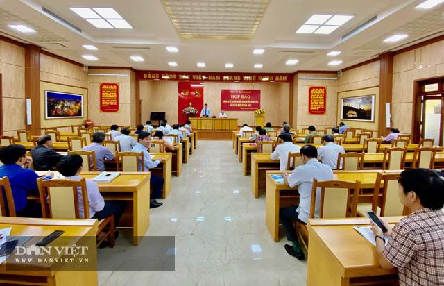 Quảng Ngãi: Không nhận hoa chúc mừng Đại hội Đảng bộ tỉnh  - Ảnh 1.