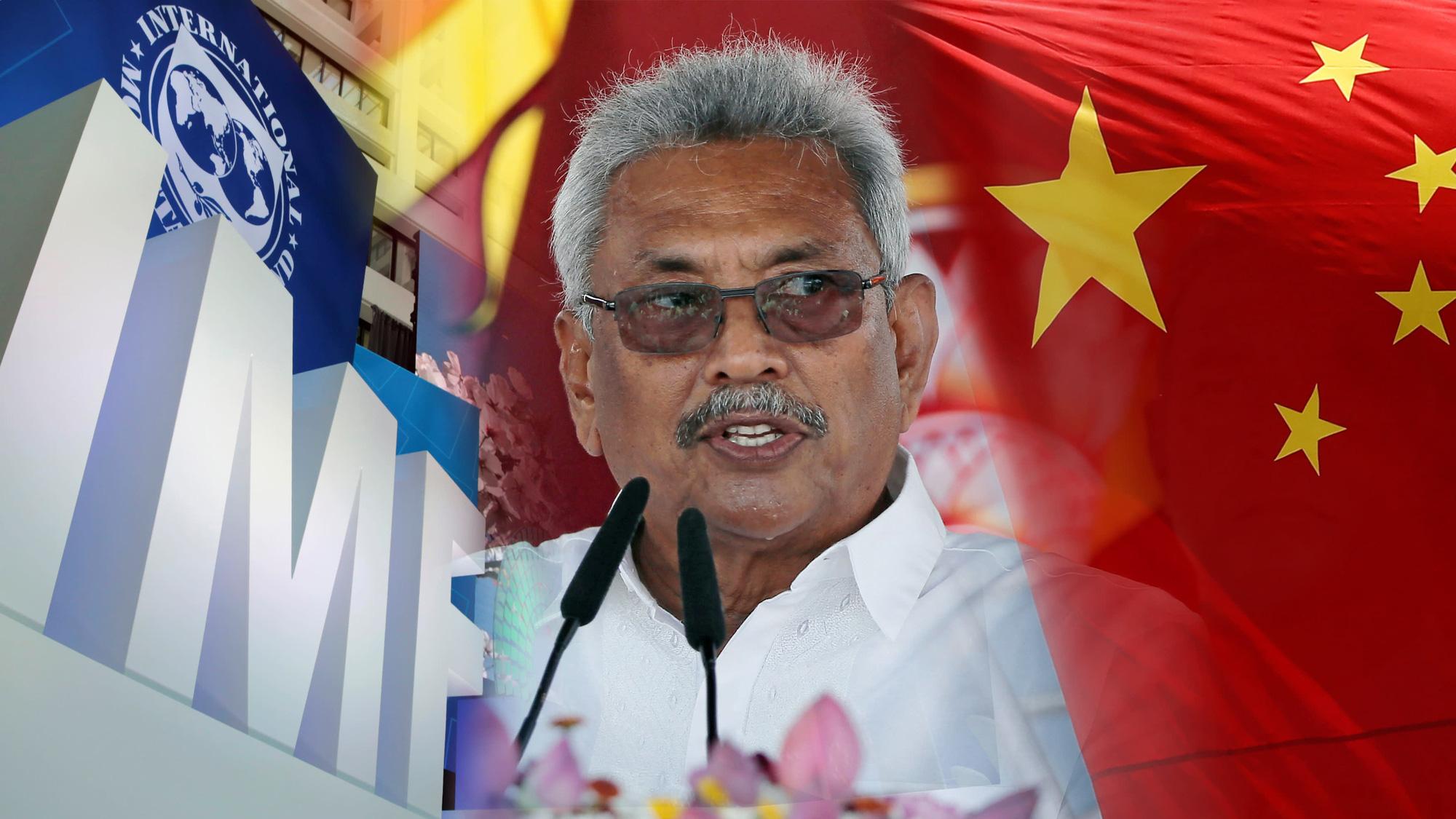 """Sri Lanka """"xa lánh"""" IMF, tìm đến Trung Quốc để vay tiền - Ảnh 1."""