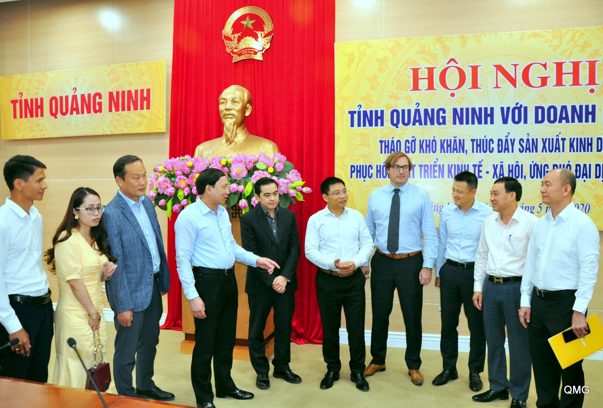 """Quảng Ninh đồng hành cùng doanh nghiệp vượt """"bão"""" Covid-19 - Ảnh 4."""