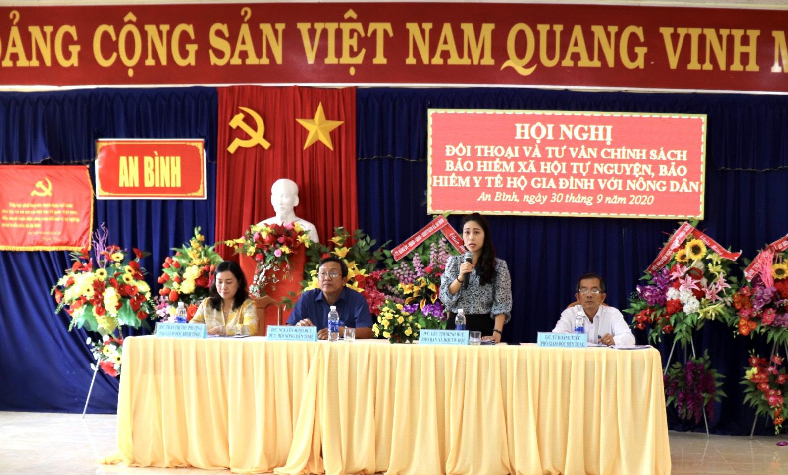 Cùng nông dân giỏi ở An Giang tham gia BHXH tự nguyện  - Ảnh 1.