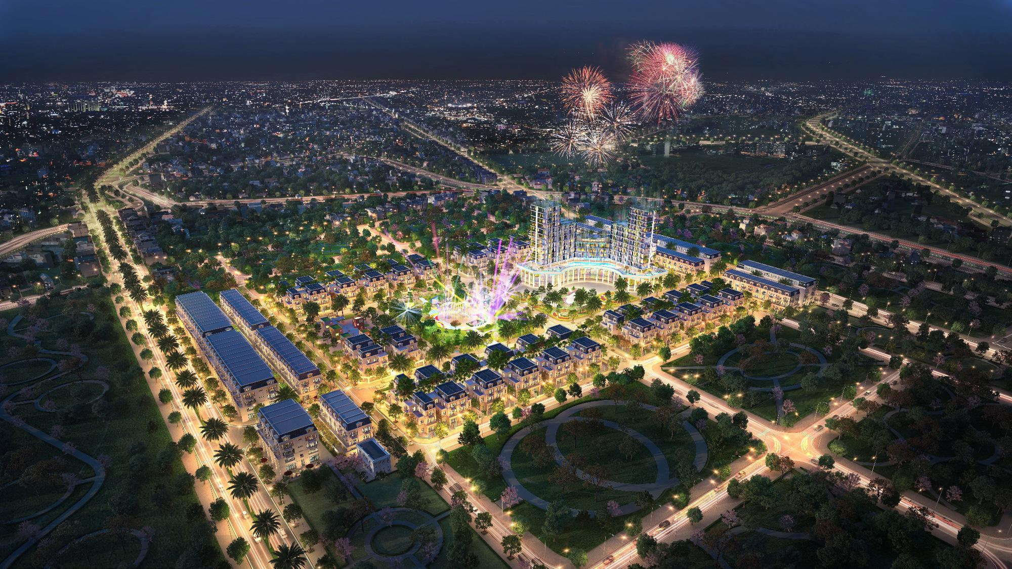 TNR Grand Palace Thái Bình: Dấu ấn đẳng cấp của chủ nhân xứng tầm - Ảnh 1.