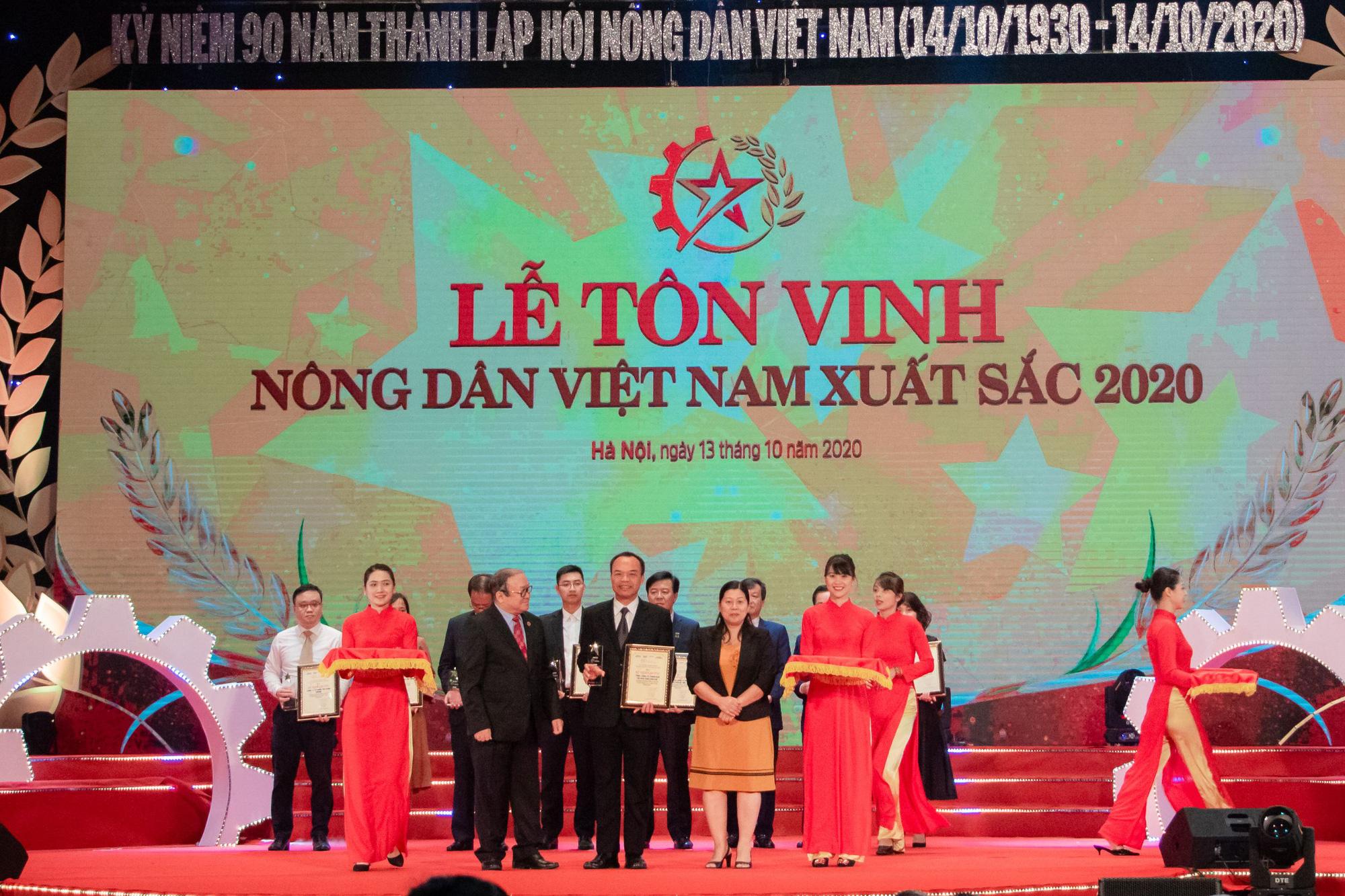"""C.P. Việt Nam nhận danh hiệu """"Doanh nghiệp đồng hành cùng nhà nông"""" - Ảnh 1."""