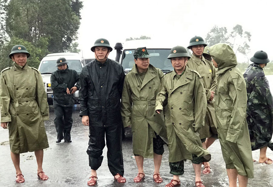 Hình ảnh của thiếu tướng Nguyễn Văn Man trước khi vào Thủy điện Rào Trăng 3 - Ảnh 3.
