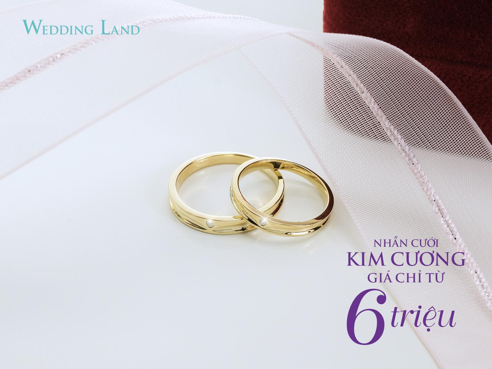 Cận cảnh nhẫn cưới kim cương giá 6 triệu đồng hot nhất thị trường - Ảnh 1.