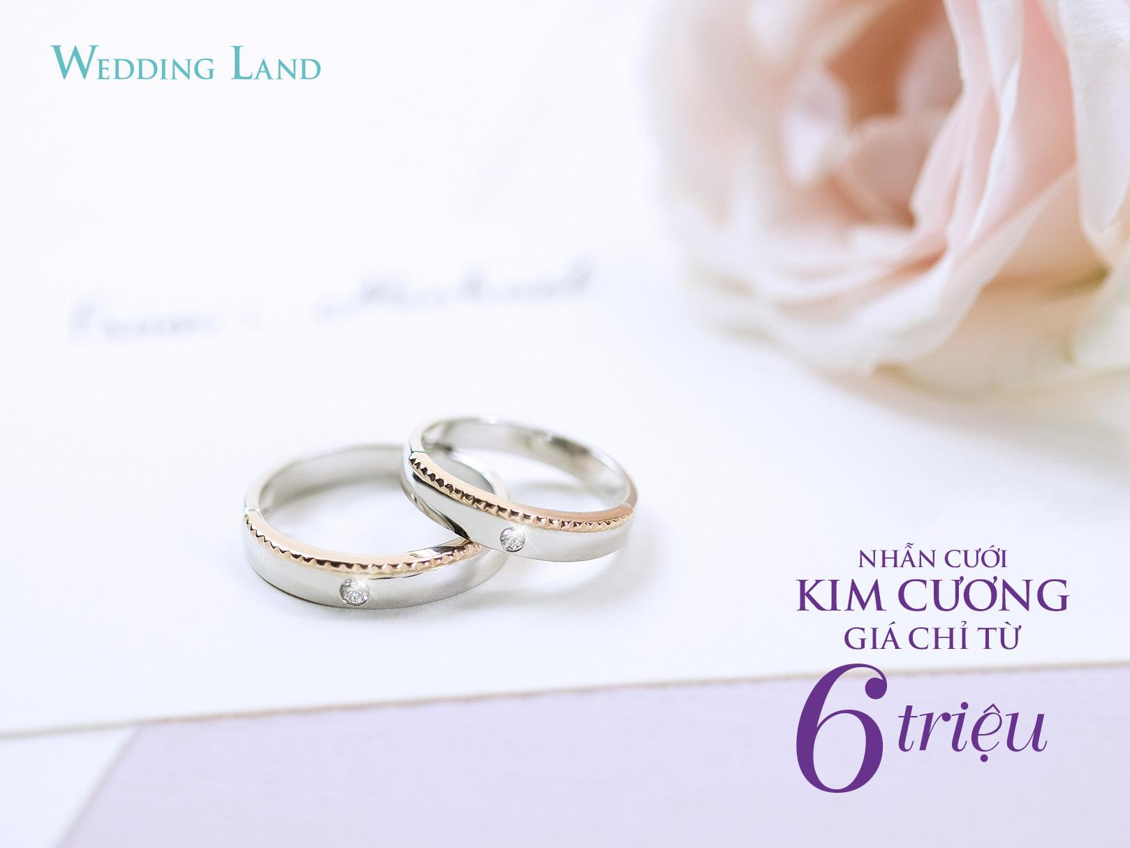 Cận cảnh nhẫn cưới kim cương giá 6 triệu đồng hot nhất thị trường - Ảnh 2.