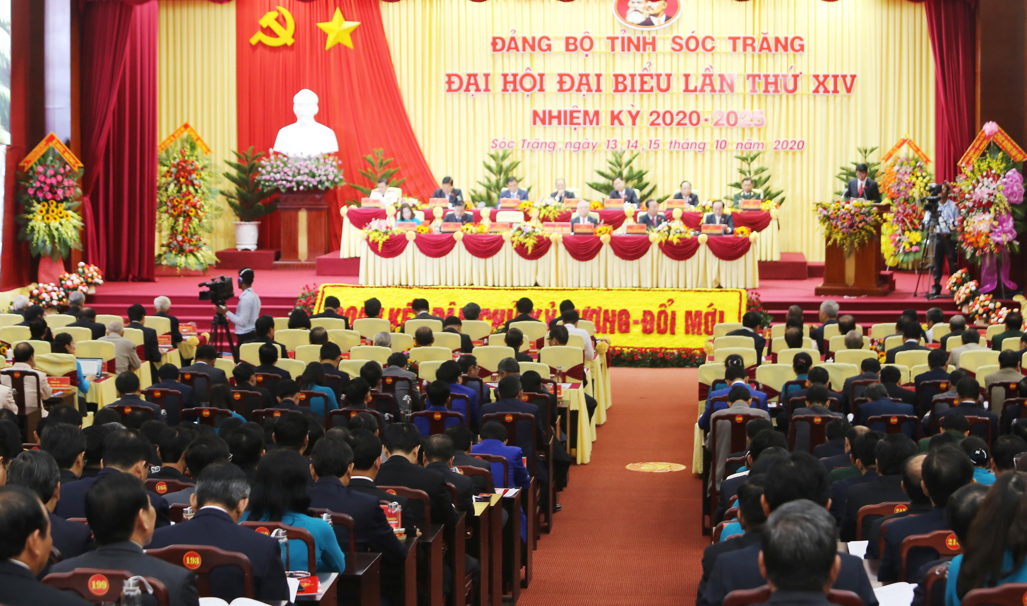 Sóc Trăng: Ông Lâm Văn Mẫn trúng cử Bí thư Tỉnh ủy Sóc Trăng - Ảnh 2.